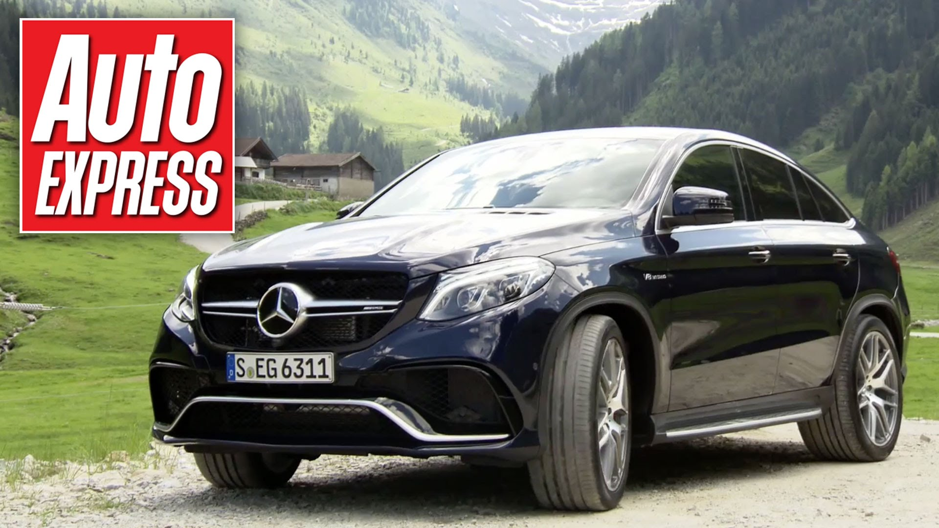 Mercedes Gle Coupe Review Can It Out Muscle The X6