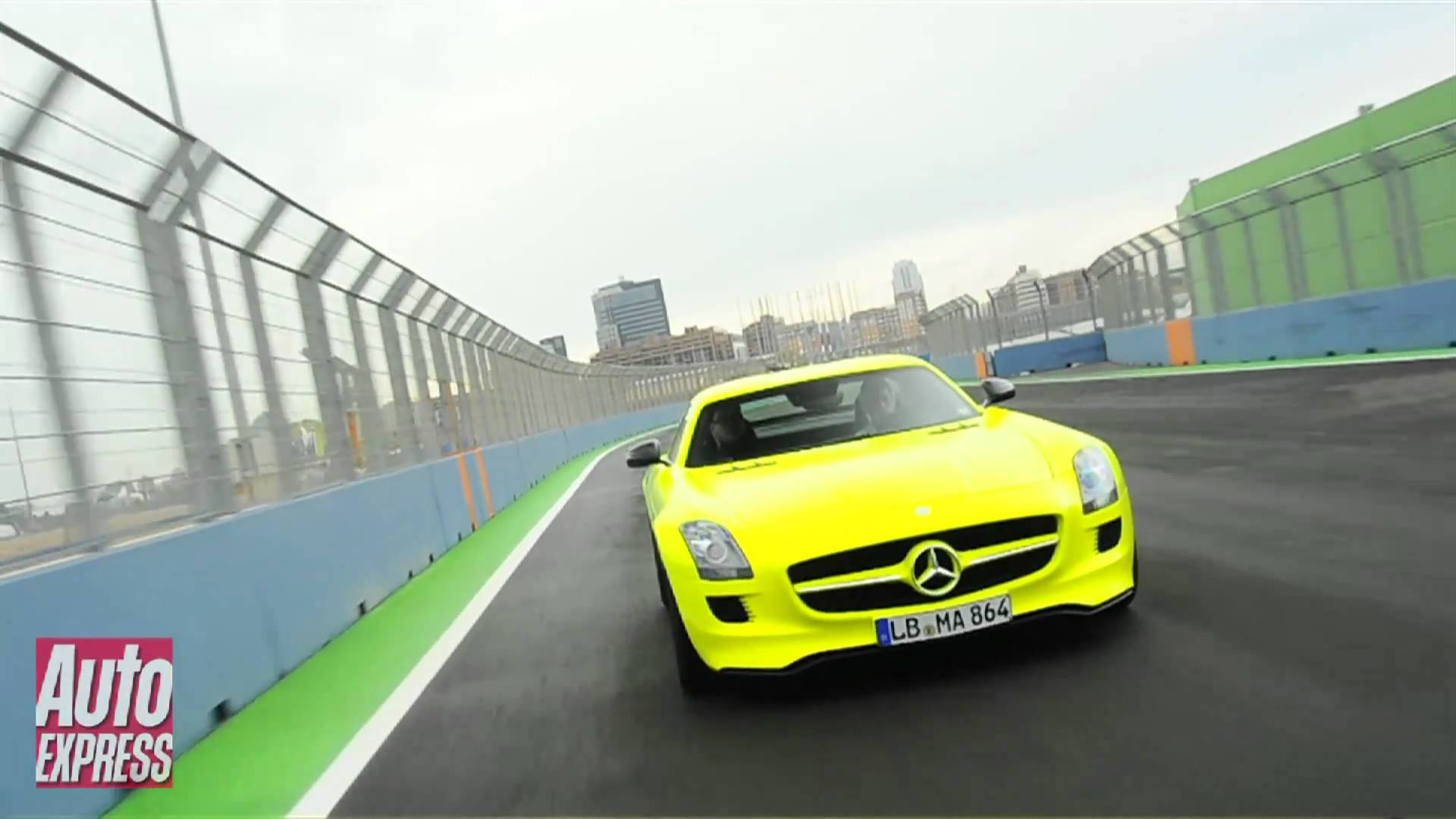 Cool Mercedes SLS ECell Electric Review  Auto Express