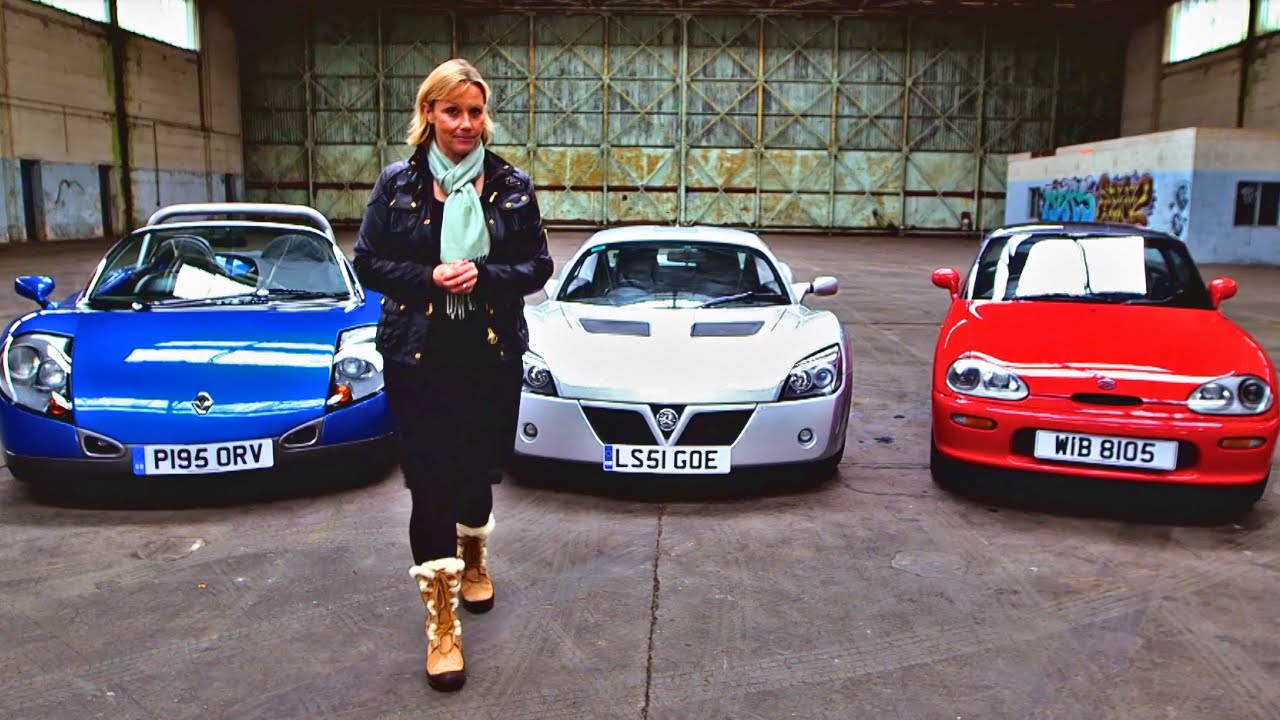 top three stand out sports cars fifth gear. Black Bedroom Furniture Sets. Home Design Ideas